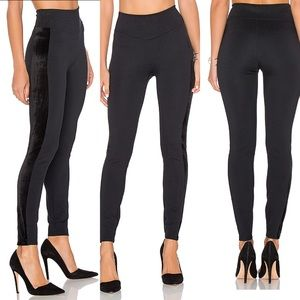 Spanx ponte velvet legging in black Medium